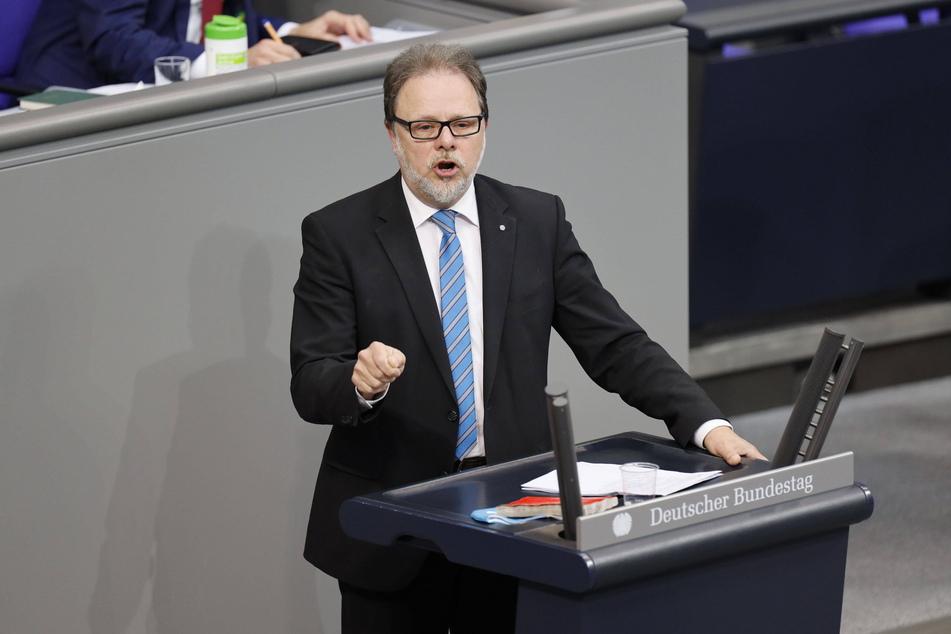 Frank Heinrich (57, CDU) ist seit 2009 Abgeordneter im Bundestag.