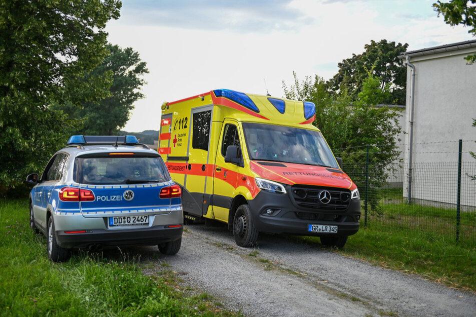 Polizei und Rettungskräfte waren im Einsatz.