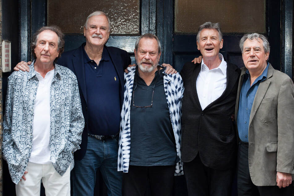 """Die Comedy-Truppe """"Monty Python"""" ist unter anderem für Kult-Komödien wie """"Das Leben des Brian"""" verantwortlich. (Archiv)"""