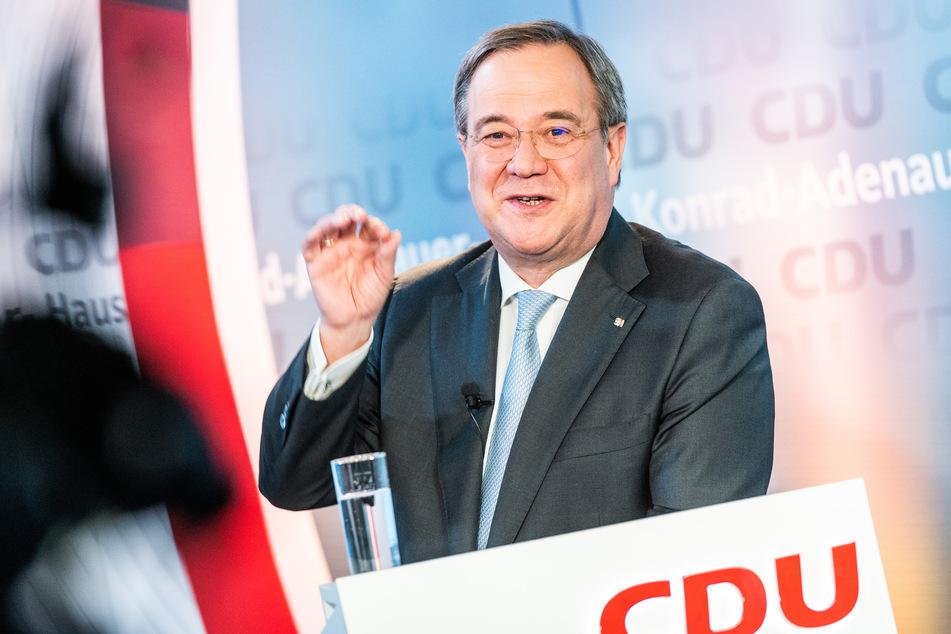 Armin Laschet (59) will in einem Video-Konferenz-Marathon für sich als neuen CDU-Bundesvorsitzenden werben.