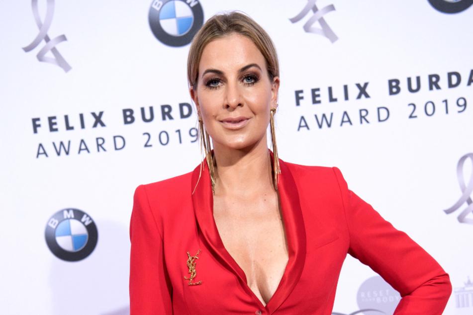 Charlotte Würdig als Moderatorin bei den Felix Burda Awards 2019 (Foto: ©Foto: Jörg Carstensen/dpa ).