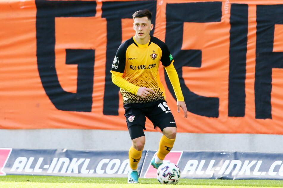 Jonathan Meier (21) wird gegen den FC Viktoria Köln wieder im Kader stehen.