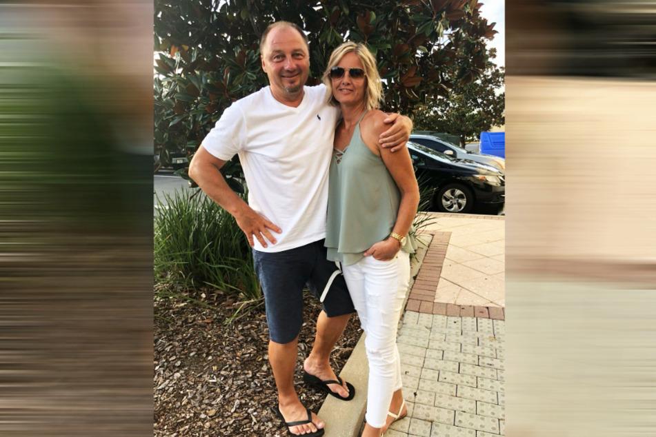 Dirk Zander mit seiner Ehefrau Conny.
