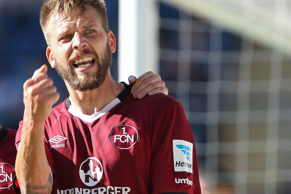 Vor dem Wechsel zu Schalke 04 ging Guido Burgstaller zwei Jahre für den 1. FC Nürnberg auf Torejagd. (Archivfoto)