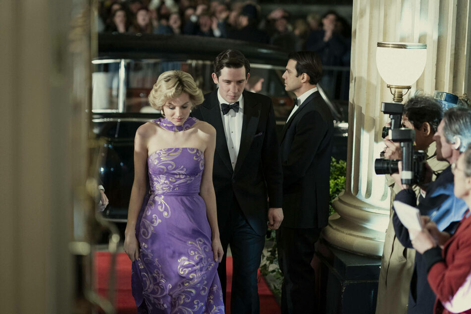 Emma Corrin as Princess Diana in the award-winning show The Crown.