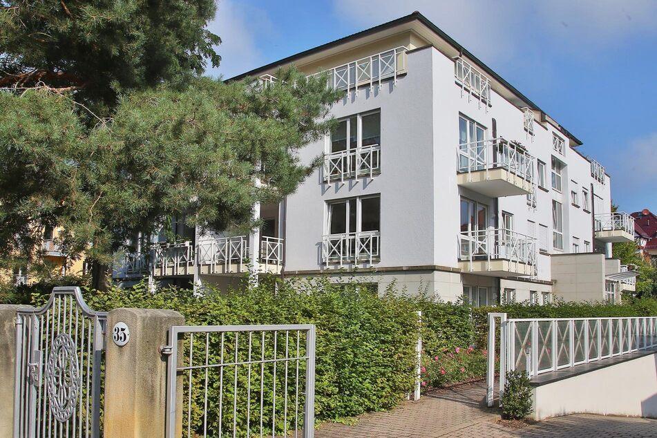 In diesem Gebäudekomplex an der Dresdner Goethealle war das Opfer des kriminellen Steuerberaters zu Hause.