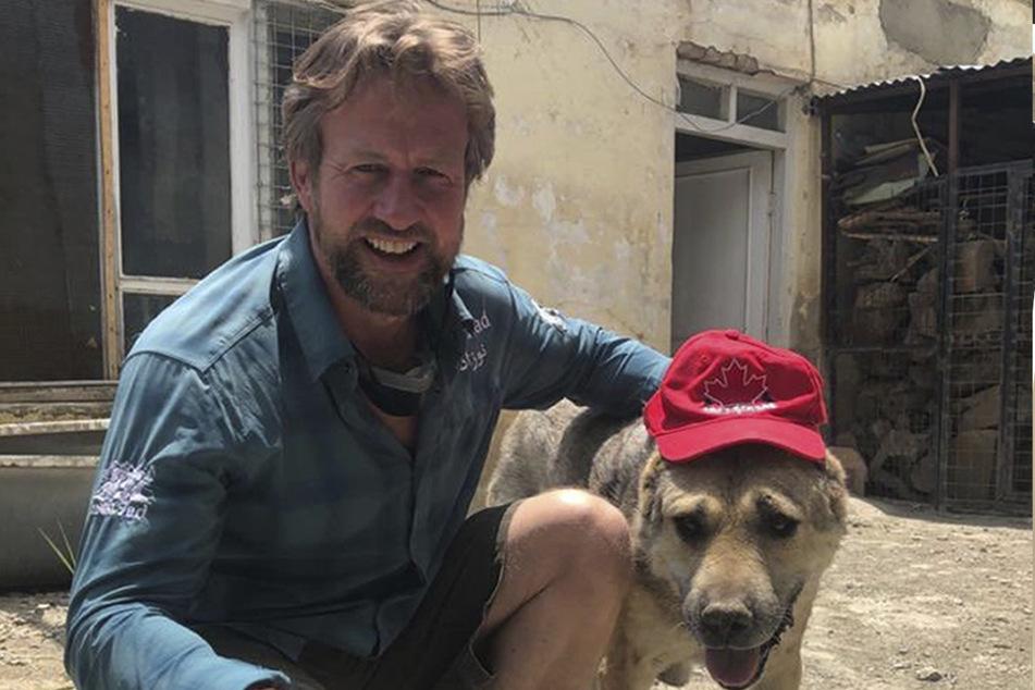 Paul (Pen) Farthing hat es geschafft und seine Tiere gerettet.