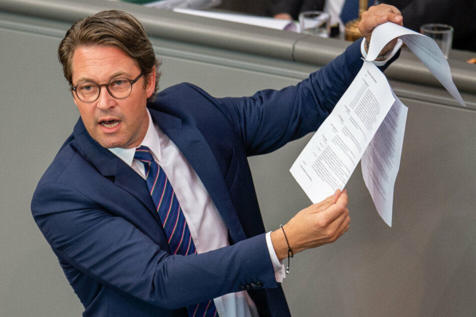 Für die Schaffung der digitalen Infrastruktur ist Bundesverkehrsminister Andreas Scheuer (46, CSU) verantwortlich. (Archiv)