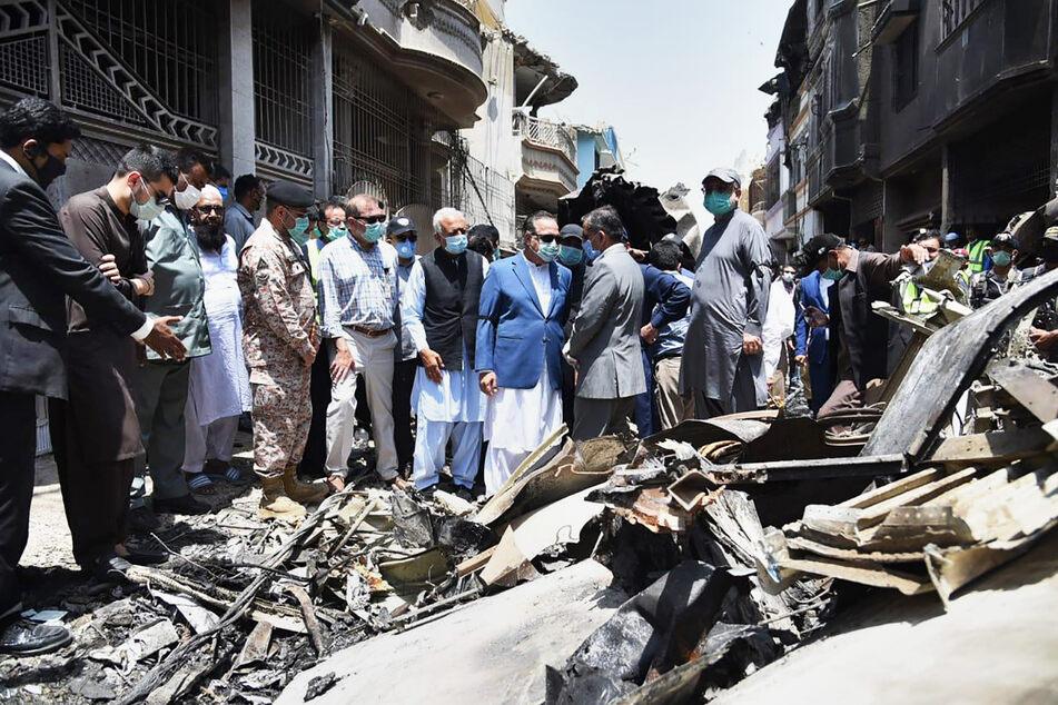 So erlebte ein Überlebender den Flugzeug-Absturz in Pakistan