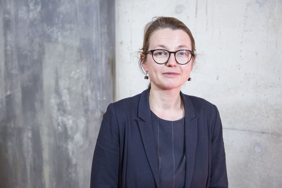 Kulturbürgermeisterin Annekatrin Klepsch (42, Linke).