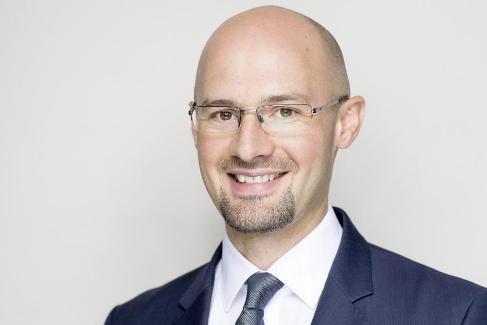 dm-Geschäftsführer Sebastian Beyer.