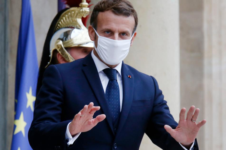 Frankreichs Staatschef Emmanuel Macron (42) kann keinen zweiten Lockdown mehr abwenden!