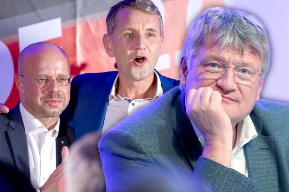 Streit um Kalbitz-Rausschmiss: AfD-Chef Meuthen weist Kritik von Höcke zurück