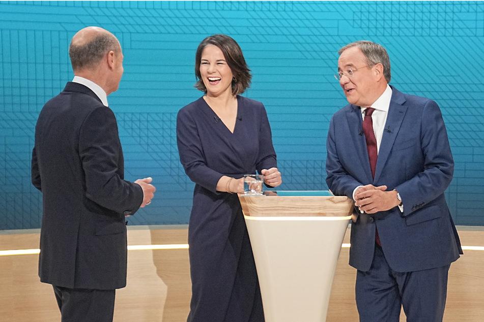 Beim Triell traten Olaf Scholz (63, SPD), Annalena Baerbock (40, Grüne) und Armin Laschet (60, CDU) gegeneinander an. Haben alle drei in ihren Büchern plagiiert?