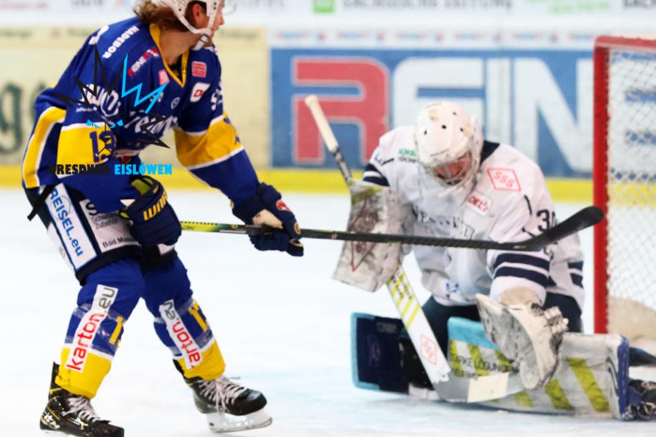 Auswärtsfluch der Eislöwen hält an: Dresden verliert auch das Sachsen-Derby