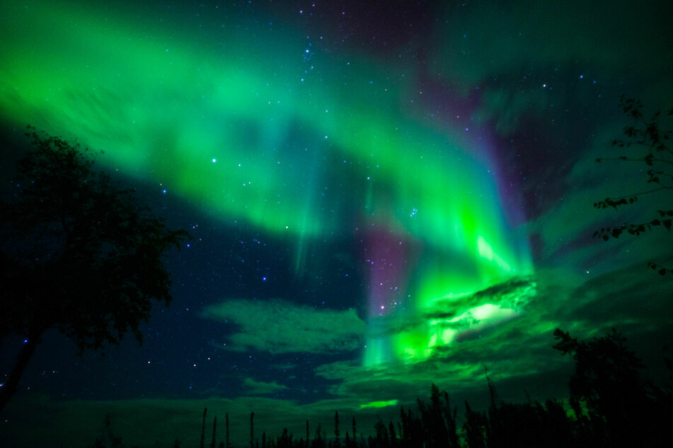 Denver locals may be able to catch a rare glimpse of the Northern Lights (stock image).