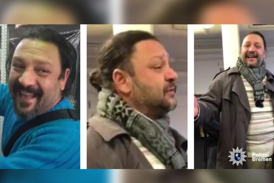Die Polizei hat mehrere Fotos des Mannes veröffentlicht.