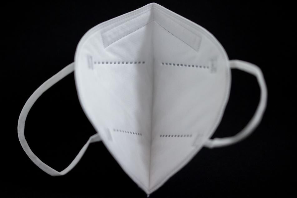 Eine Corona-Schutzmaske.