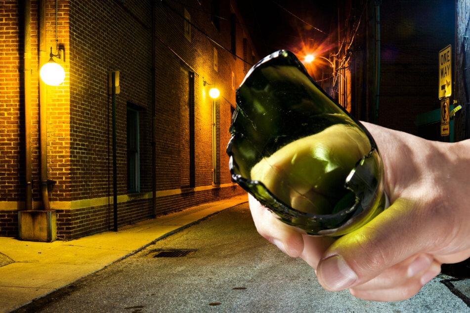 Prozess wegen blutiger Attacke mit Glasflasche vor Disko in Frankfurt-Ostend