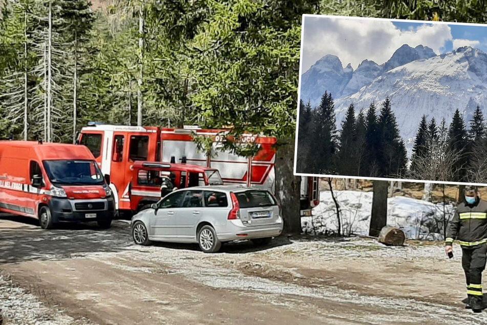 Lawinenunglück in den Alpen fordert zwei Tote