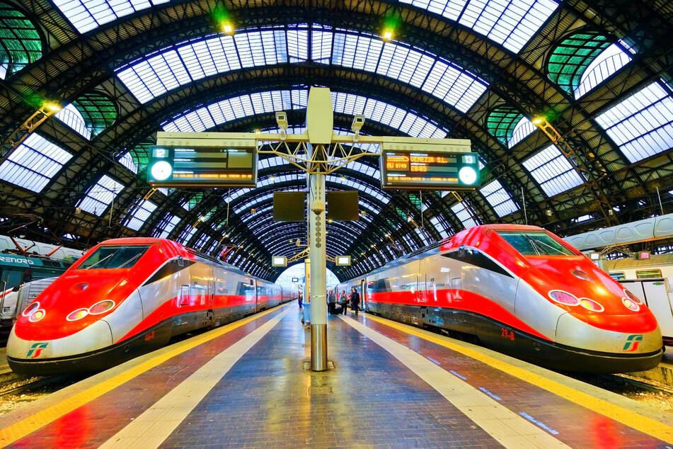 Ab 10. Dezember verkehren auf unbestimmte Zeit keine Züge der Schweizer Bahnen SBB und von Trenitalia mehr über die Grenze (Symbolfoto).