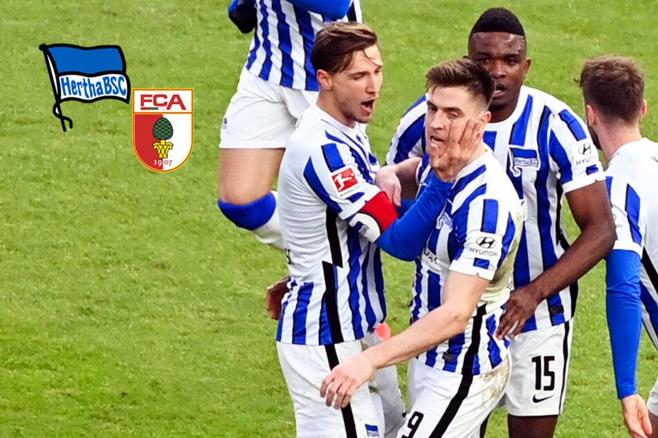 Krise beendet! Elfmeter sichert Hertha BSC nach starker Aufholjagd den Sieg gegen Augsburg