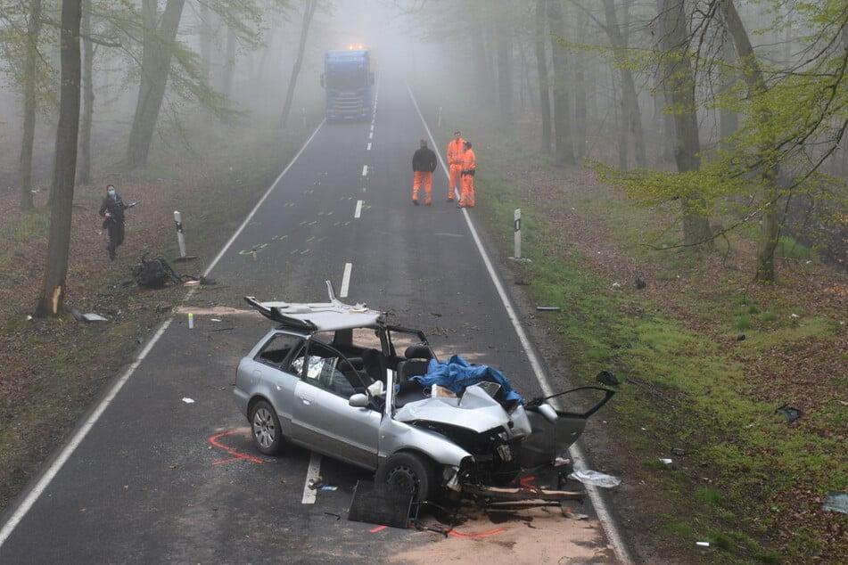 Die ermittelnden Beamten fanden heraus, dass das verunglückte Fahrzeug gar nicht zugelassen war.