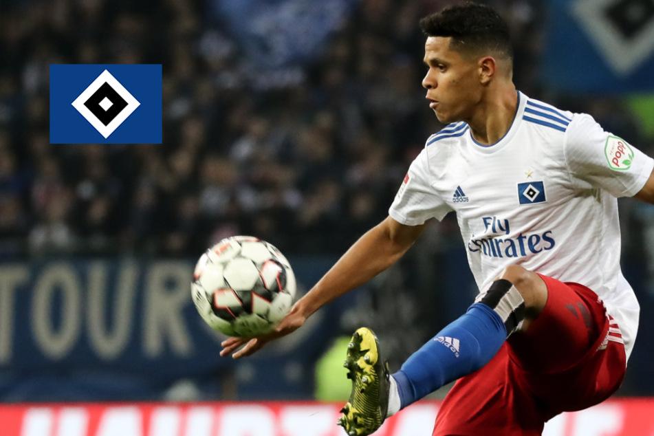 Douglas Santos stärkt den HSV ein Jahr nach seinem Weggang