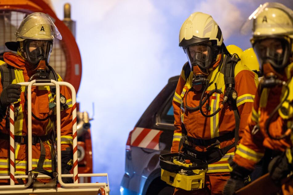 Brand im Kohlekraftwerk: Feuerwehr rückt in Heilbronn an