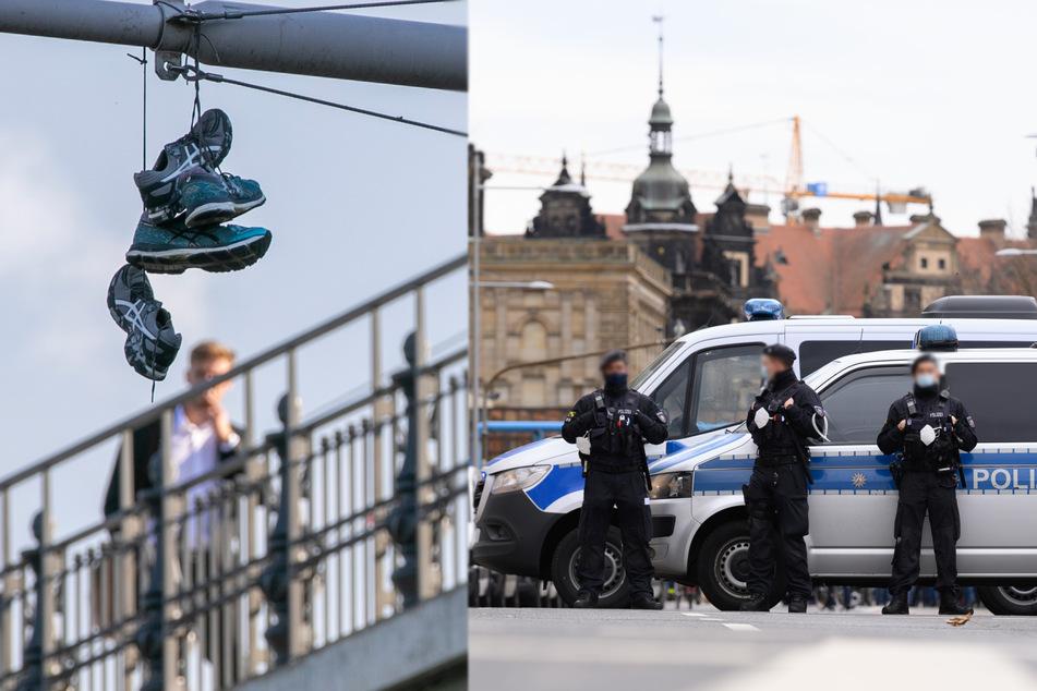 Dresden: Mann (33) löst Großeinsatz von Polizei und Feuerwehr in Dresden aus: Der Grund ist absurd