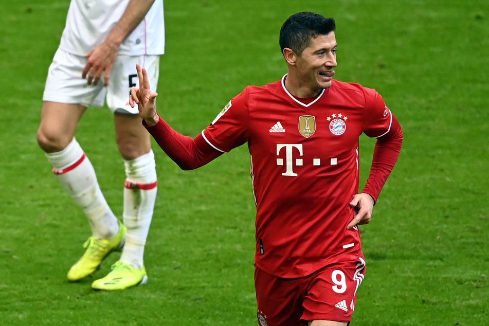 Robert Lewandowski (32) wird dem FC Bayern München in den kommenden Wochen verletzungsbedingt fehlen.