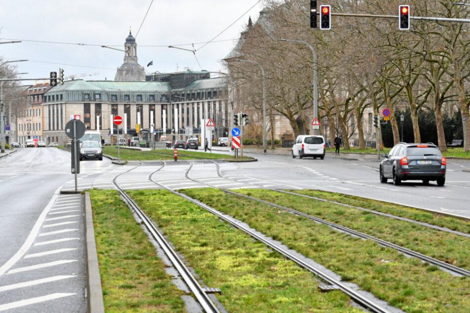 Am Palais würde der komplette freie Raum für die Tunneleinfahrt gebraucht.