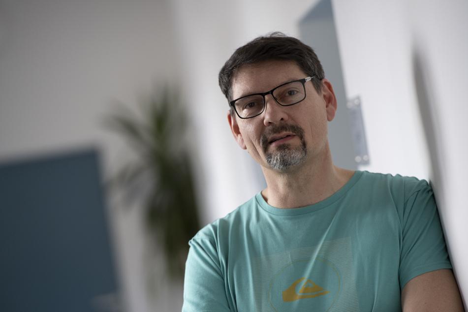 Patrick Larscheid, Amtsarzt im Berliner Bezirk Reinickendorf. Wird ein neuer Fall des neuartigen Coronavirus bekannt, machen sich Mediziner auf die Suche nach so genannten Kontaktpersonen.