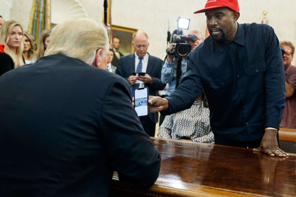 Im Oktober 2018 besuchte Kanye den amtierenden US-Präsidenten im Weißen Haus. (Archivbild)