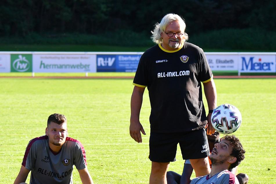 """Bei Dynamo sorgt """"Scholle"""" als Co-Trainer mit seinen lockeren Sprüchen für gute Stimmung."""