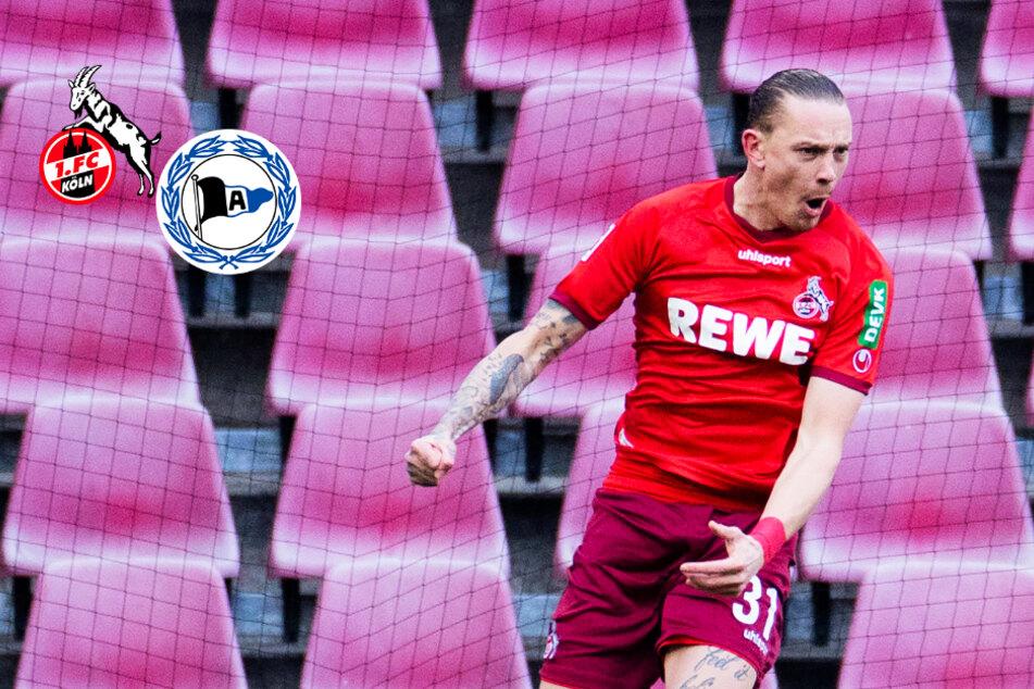 1. FC Köln gelingt gegen Arminia Bielefeld dank Wolf der ersehnte Befreiungsschlag!