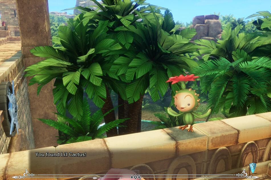 Diese kleine Pflanze wird schnell Euer bester Freund: Der Kaktusfratz versteckt sich überall in der Spielwelt. Findet Ihr ihn oft genug, winken tolle Belohnungen.
