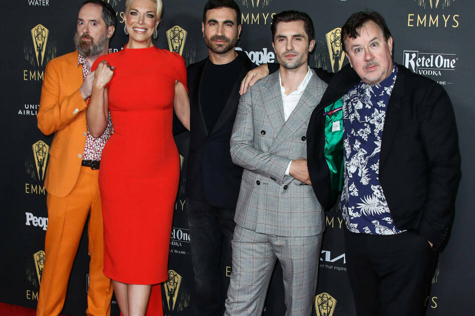 The cast of Ted Lasso had a hugely successful night at the Emmys!