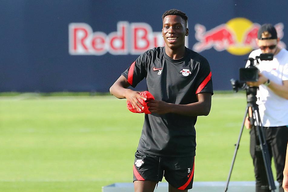 Ilaix Moriba (18) könnte beim 1. FC Köln zu seinem ersten Einsatz für RB Leipzig kommen.