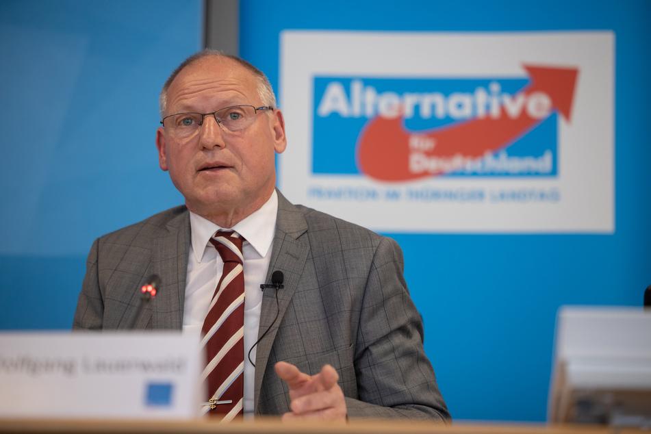 Der gesundheitspolitische Sprecher der Thüringer AfD-Fraktion, Wolfgang Lauerwald, löste mit einer Aussage Empörung bei anderen Fraktionen aus.