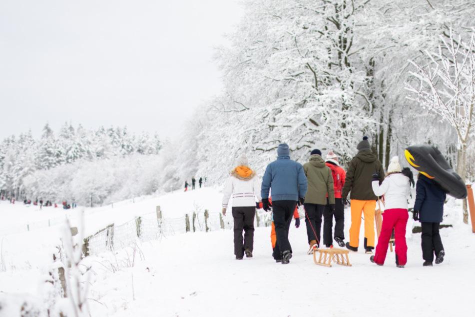 Schnee-Touristen verstoßen in NRW gegen 15-Kilometer-Regel