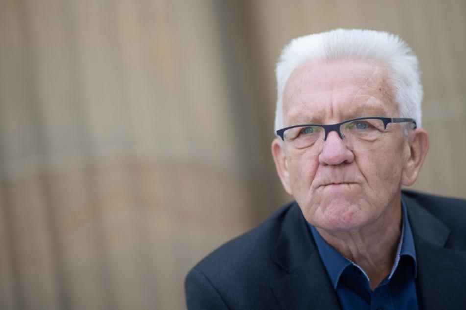 Baden-Württembergs Ministerpräsident Winfried Kretschmann (72, Grüne).