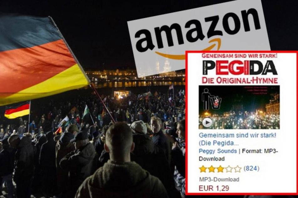 Warum ist die PEGIDA-Hymne bei Amazon verschwunden?