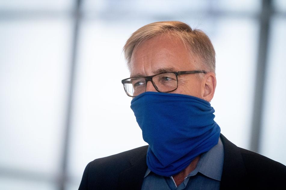 Dietmar Bartsch, Fraktionsvorsitzender der Partei Die Linke im Bundestag.