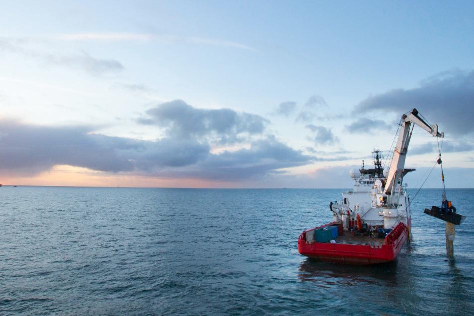 Mögliches Containerunglück auf der Nordsee! Küstenwache im Einsatz