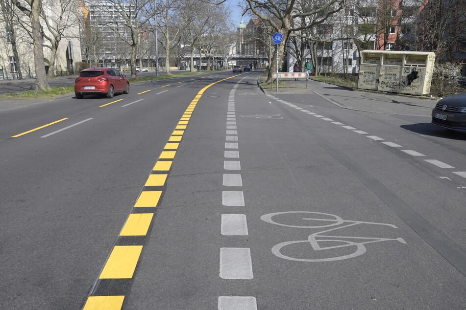 In Berlin (F.) wurden Radwege bereits provisorisch vergrößert. (Archivbild)