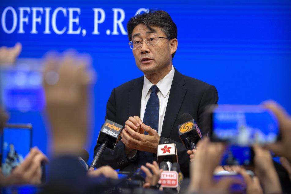 Virologe Gao Fu (59), Direktor des chinesischen Zentrums zur Prävention und Kontrolle von Krankheiten (CDC).