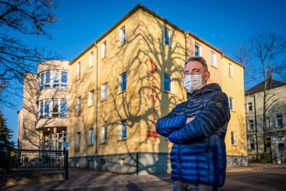 Pflegeheimleiter Steffen Müller hat Personalsorgen. Ein großer Teil der Pflegekräfte fehlt derzeit.