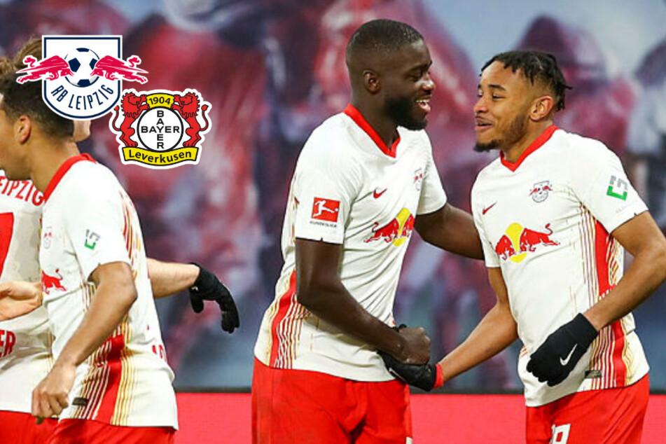 Nkunku ballert RB Leipzig zum Sieg gegen Leverkusen: Sachsen bleiben Bayerns einziger Verfolger