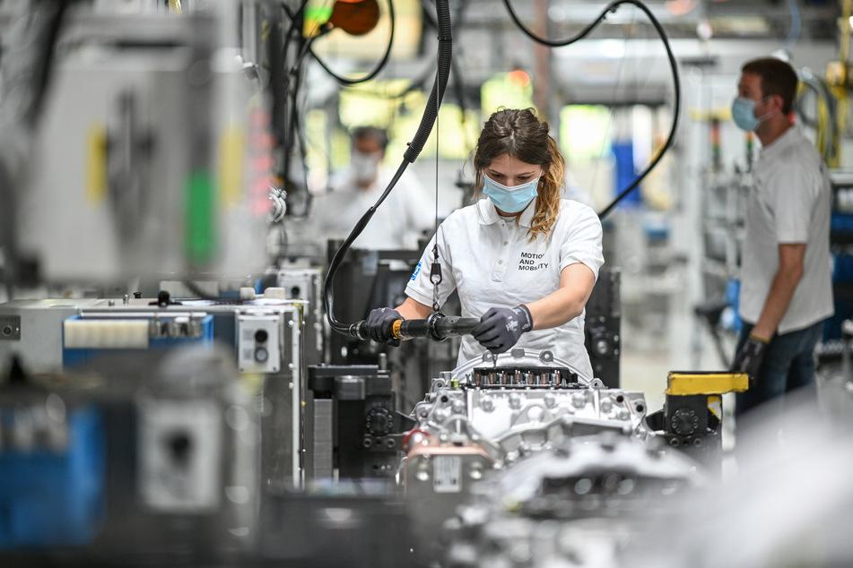 Die Corona-Krise macht dem Maschinenbau in Deutschland schwer zu schaffen.